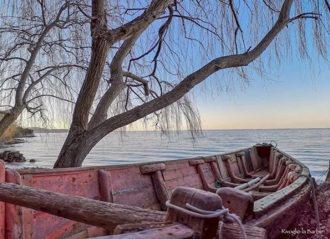 Gargano inverno Lago di Varano