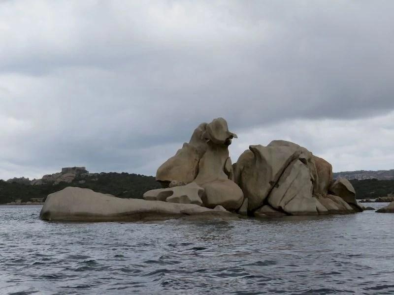 roccia dell'elefante la maddalena