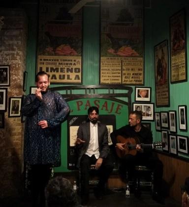spettacolo flamenco tabanco el pasaje jerez de la frontera
