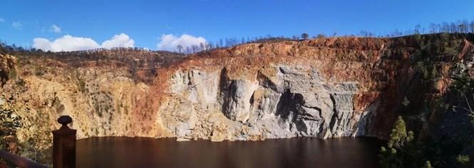Peña de Hierro parque minero de Riotinto