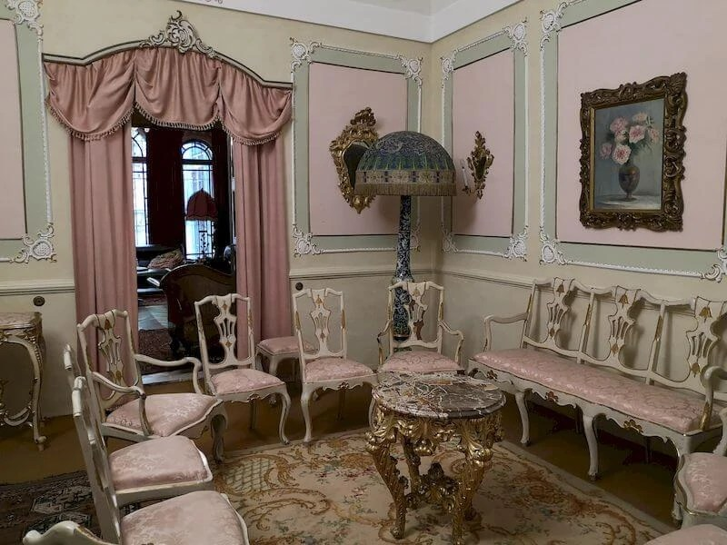 salotto rosa quadreria cesarini fossombrone