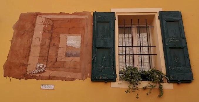 murales finestra dozza