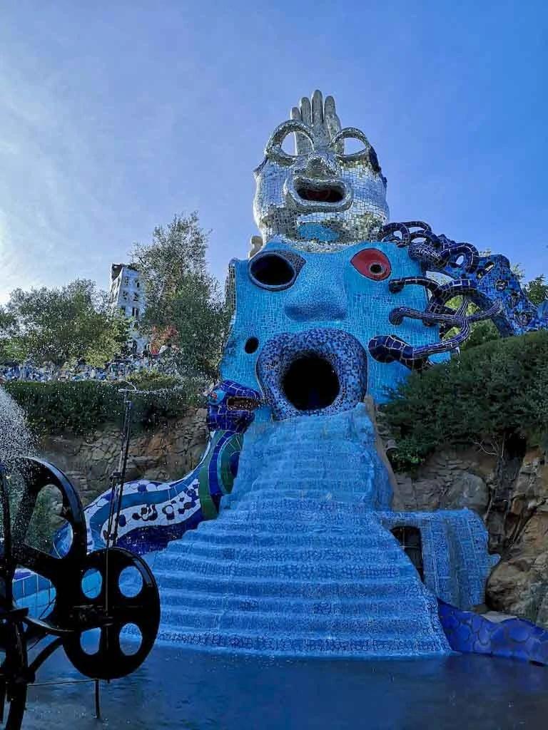 giardino dei tarocchi papessa e mago