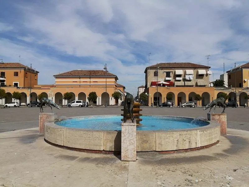 tresigallo piazza della Repubblica