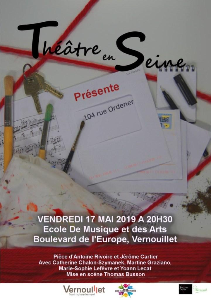 104 Rue Ordener de Rivoire et Cartier par Théâtre en Seine Verneuil