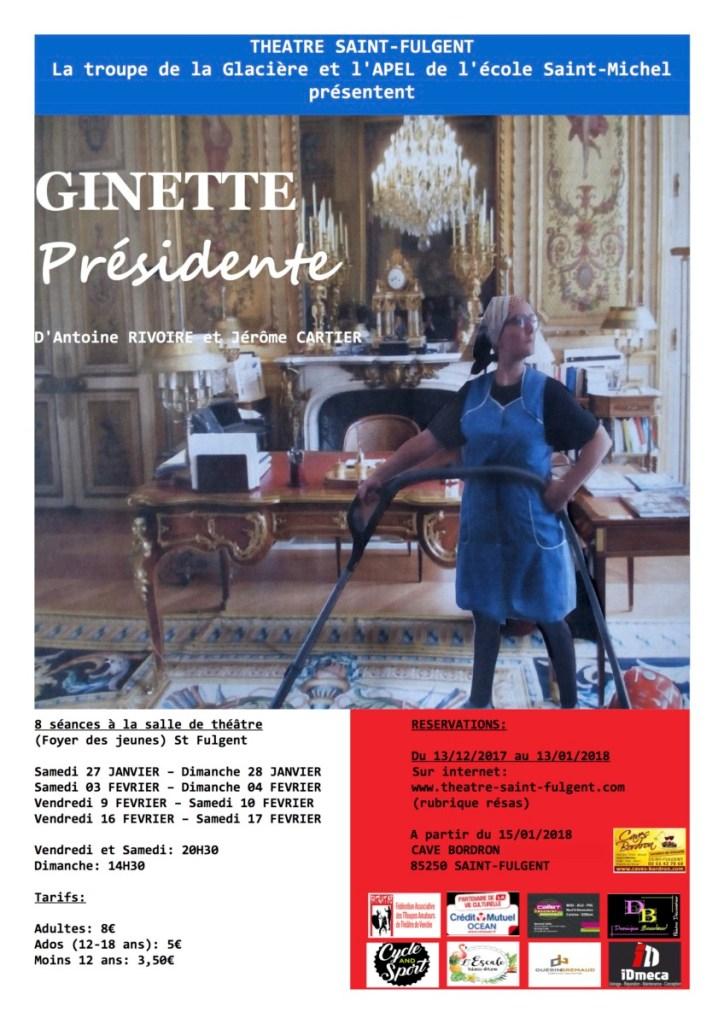 Ginette présidente de Rivoire et Cartier par l'APEL de Saint Fulgent