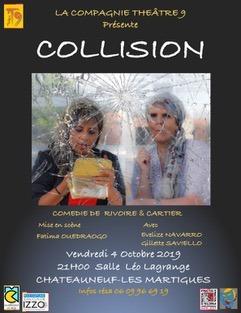 Collision de Rivoire et Cartier, par la compagnie Théâtre 9