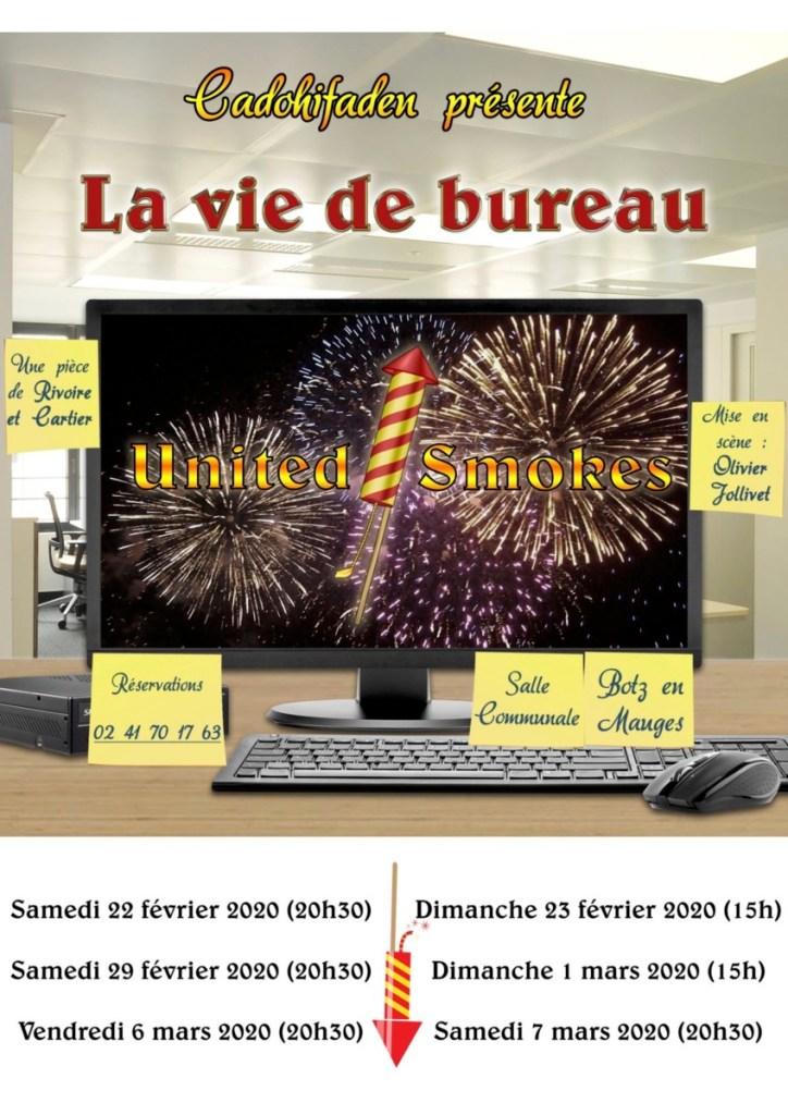 La Vie de Bureau de Rivoire et Cartier par le théâtre Cadohifaden