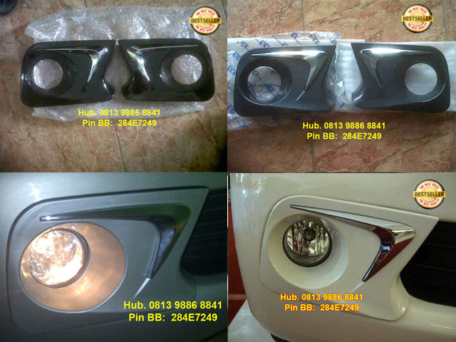 aksesoris grand new avanza 2017 keluhan veloz cover foglamp all rivo variasi 480 piksel tutup bensin tank luxury