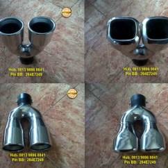 Variasi Grand New Veloz Pelek Muffler Cutter / Ujung Knalpot | Rivo