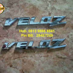 List Grill Grand New Avanza Veloz 1.3 M/t 2012 S D 2015 Rivo Variasi Emblem Rp 55 000