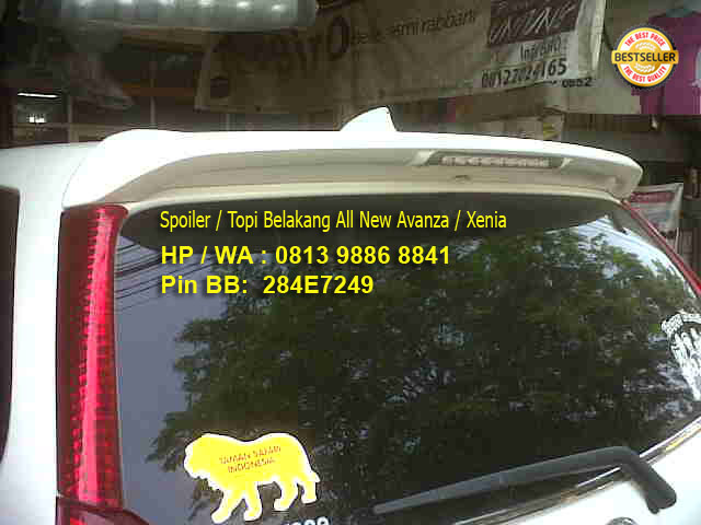 variasi grand new veloz agya trd 2019 spoiler with lamp topi belakang avanza rivo