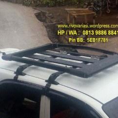 All New Kijang Innova Reborn Toyota Yaris Ia Trd Roof Rack / Sportrack Cross Bar | Rivo Variasi