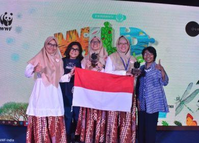 Siswi Indonesia Juara Cerdas Cermat Internasional di India