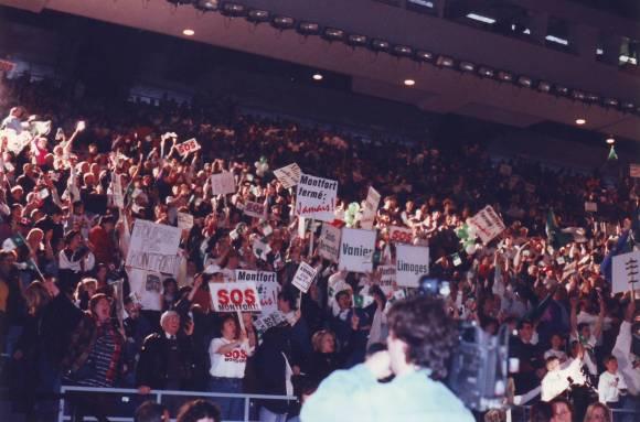Grand ralliement SOS Montfort à Ottawa, 22 mars 1997