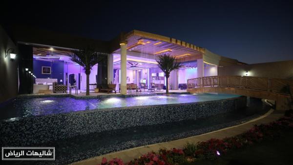 شاليهات درة حي الرمال الأرقى والأفخم بين شاليهات الرياض