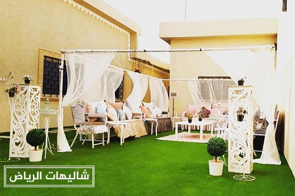 شاليهات القمة حي النرجس لحفلات الزفاف والإيجار اليومي