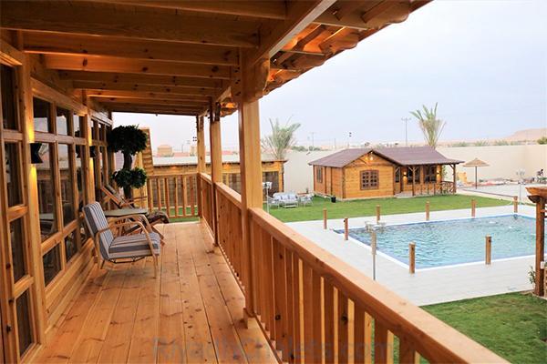 مرافق شاليهات بنبان بارك الريفي افضل شاليهات شرق الرياض