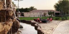 شاليهات بابل حي العمارية بمساحة 300 متر مربع لحفلات العائلات