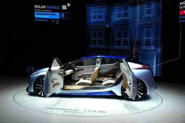 Nissan IDS Concept Geneva Motor Show 2016