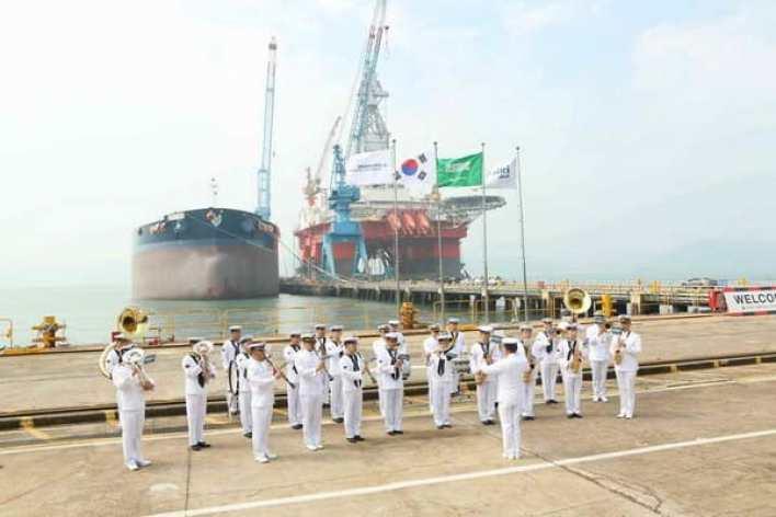 """""""رمثان"""" هي رابع ناقلة نفط عملاقة تنضم إلى أسطول البحري هذا العام"""