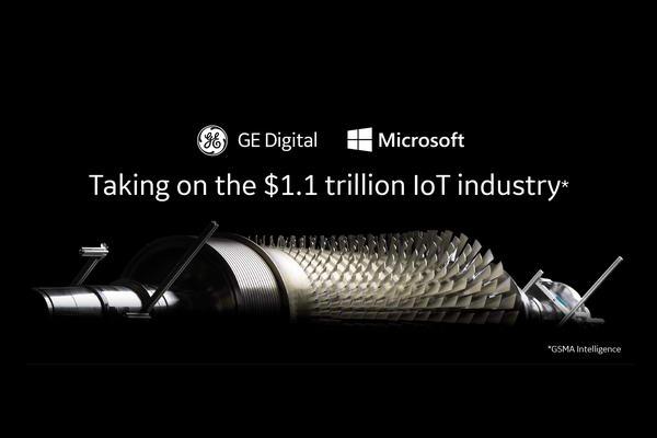 """""""جنرال إلكتريك"""" و""""مايكروسوفت"""" تعلنان عن أكبر شراكة لهما لتسريع اعتماد إنترنت الأشياء بين العملاء"""