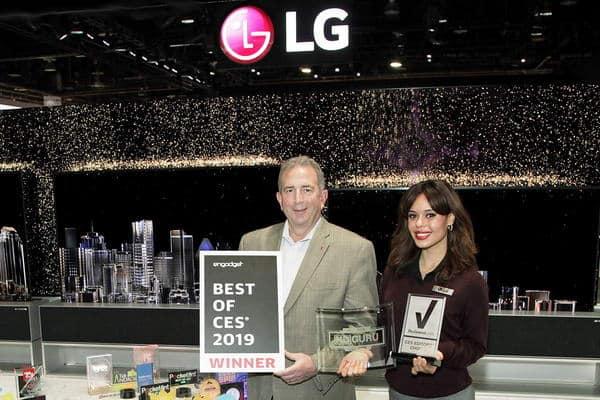 إل جي تحصد أكثر من 140 جائزة وتقدير في معرض الالكترونيات الاستهلاكية في مختلف الفئات