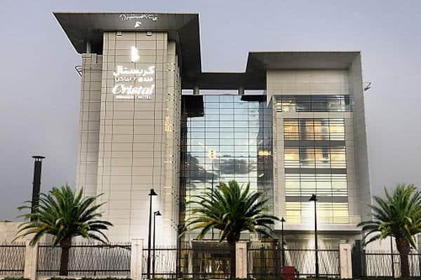 مجموعة كريستال تفتتح فندق كريستال أماكن في الرياض