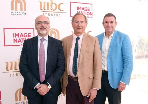 """شراكة جديدة بين إيمج نيشن أبوظبي، وشركة ماجد الفطيم  و""""MBC Studios"""" لإنتاج مشاريع سينمائية وتلفزيونية في الشرق الأوسط"""