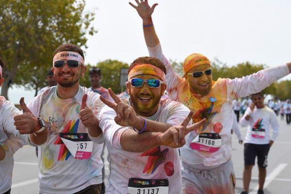 """""""سباق الألوان"""" برعاية """"صانسيلك"""" يعود إلى المملكة العربية السعودية لينثر ألوان البهجة والسرور في الرياض"""