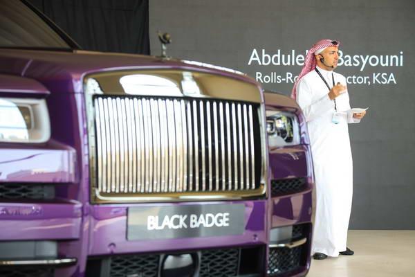 رولز-رويس كالينان بلاك بادج تصل إلى المملكة العربية السعودية