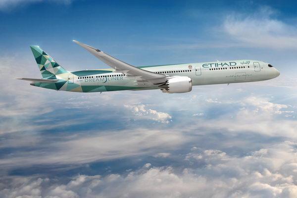 الاتحاد للطيران تواصل التقدم في المبادرات المستدامة للمساعدة في خفض انبعاثات الكربون