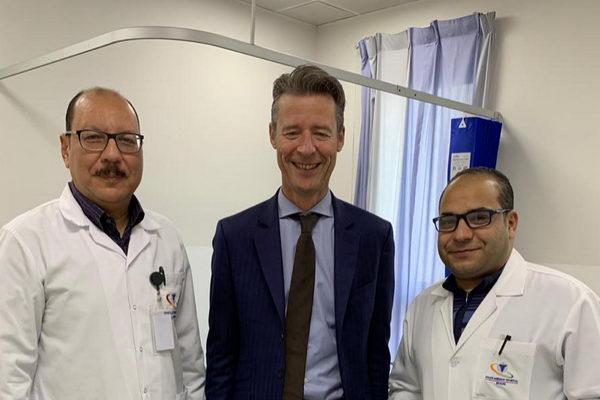 (وحدة رعاية السكتة الدماغية ) بالمستشفى السعودي الالماني بالرياض ينقذ مريض من الشلل التام