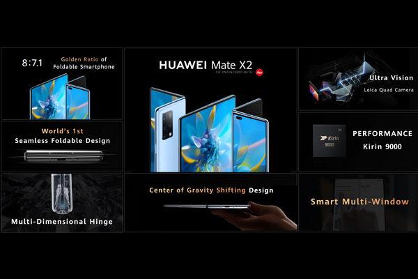 تخيل ما يتكشف: هواوي أعلنت عن إطلاق هاتف HUAWEI Mate X2