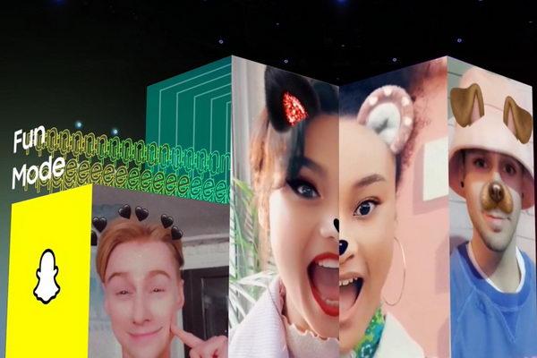 سامسونج تتعاون مع Snapchat لدمج وضع Fun Mode في سلسلة هواتف جالاكسي A