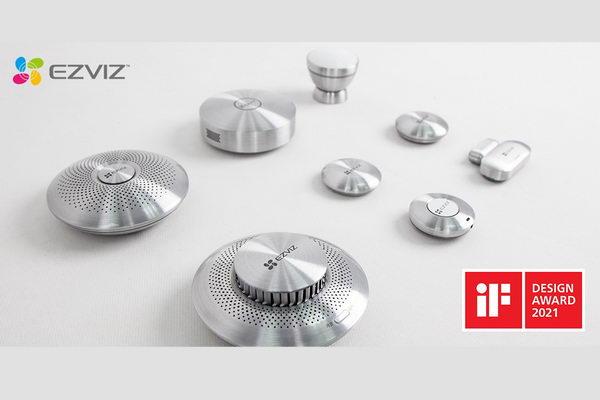 مجموعة منتجات استشعار المنزل الذكي من EZVIZ تحصد جائزة iF Design