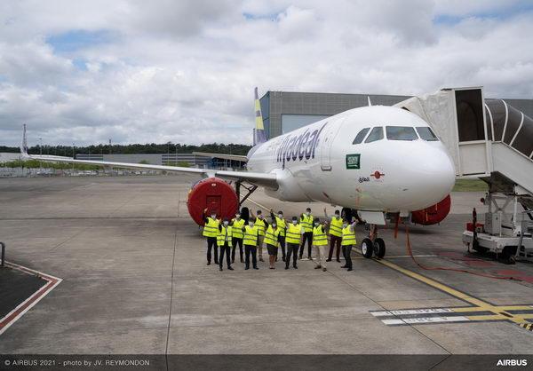 """""""طيران أديل"""" توقع اتفاقية طويلة الأمد للحصول على خدمات إيرباص Flight Hour Services"""