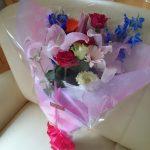 【実録】『花に興味がないと公言する副長に花束を贈ってみたよ。』