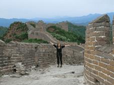 6km de marche sur la partie de la Muraille de Chine encore intacte et préservée