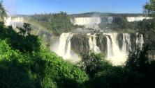 Les Chutes d'Iguaçu vues depuis le Brésil