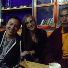 Rencontre avec un moine tibétain à Tagong, Chine (2015)