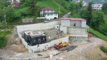 Rize'nin içme suyu elektrik üretimi için gün sayıyor