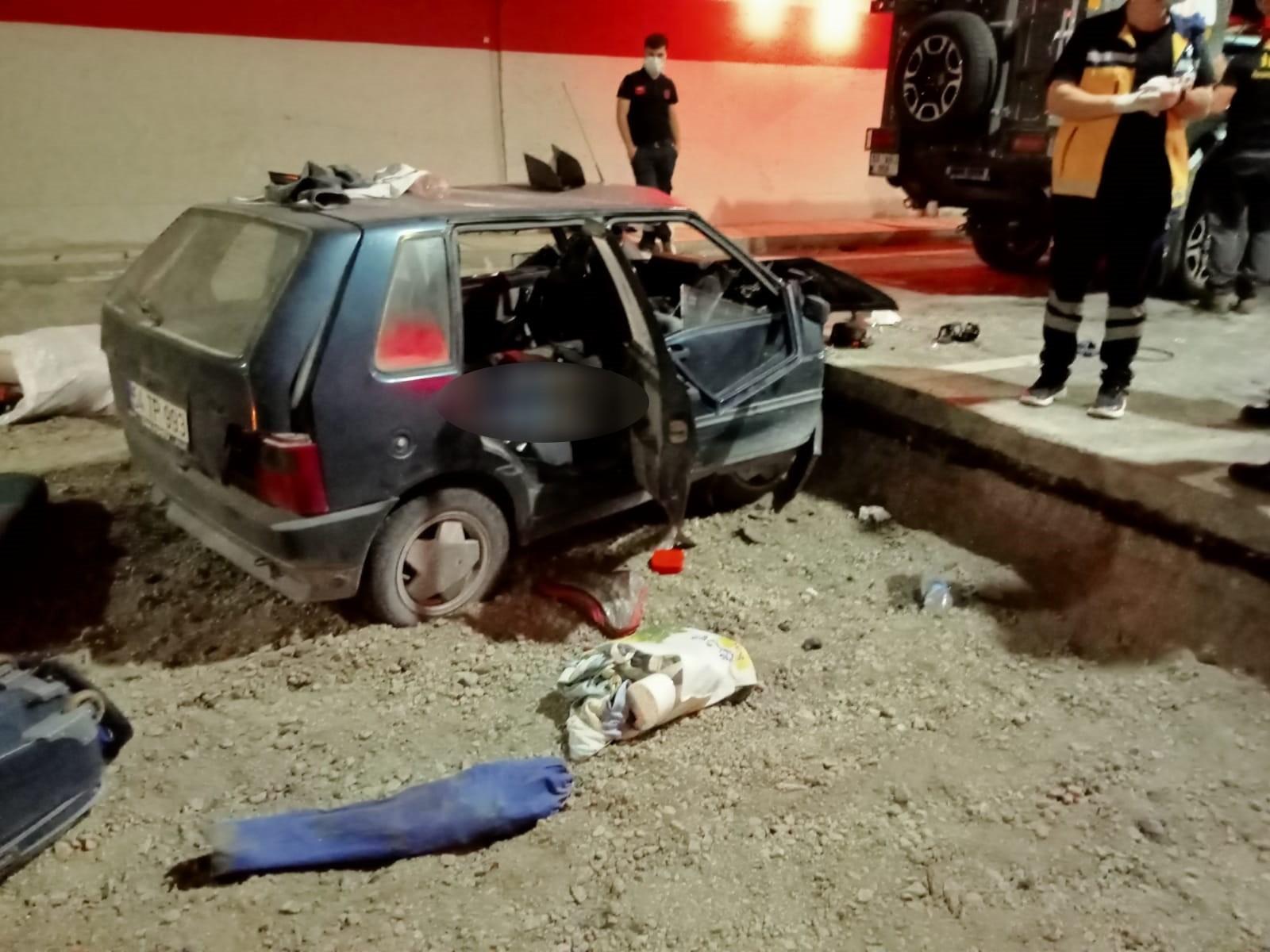 Ovit Tüneli'nde trafik kazası: 1 ölü