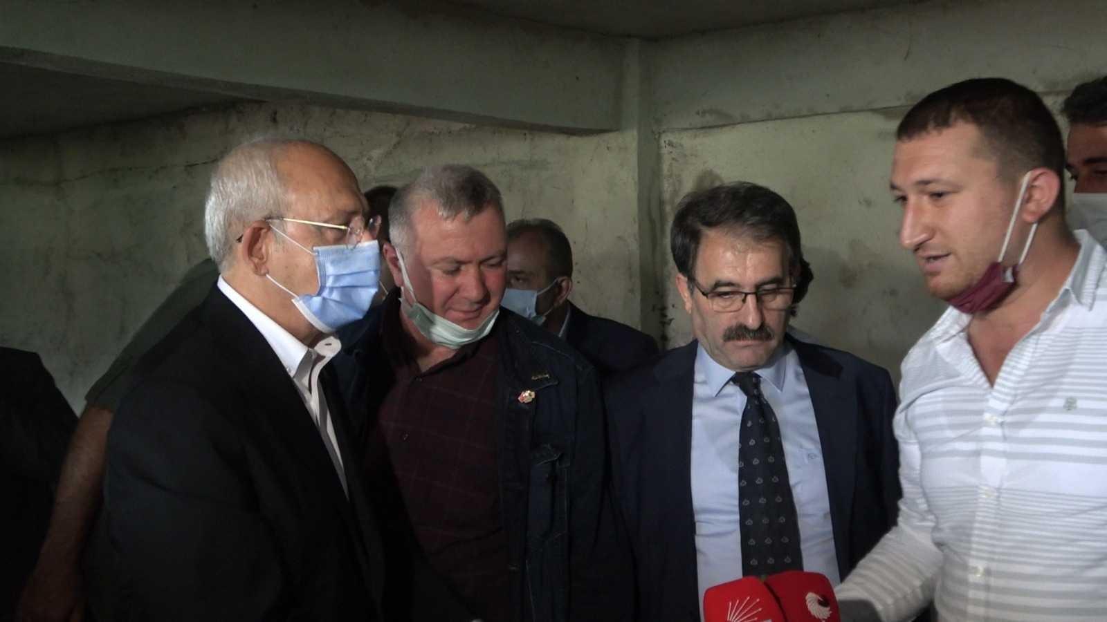 Kılıçdaroğlu'na Rize'de çay üreticileri yerine CHP'li başkanın oğlu bilgi verdi