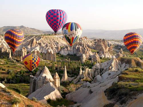 Hot Air Balloon In Cappadocia Turkey Rizkacil