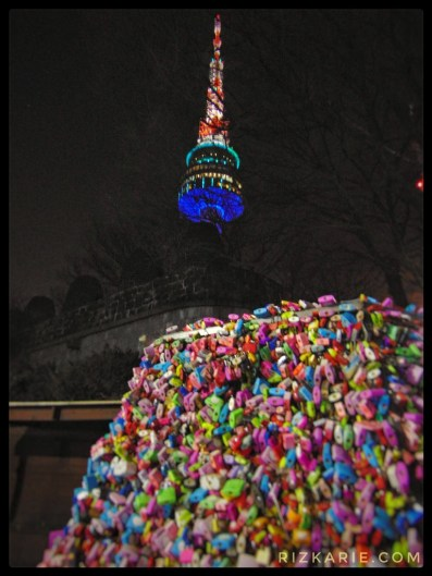 Namsan Tower, Love lock namsan tower