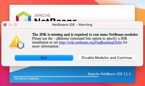 Netbeans Error