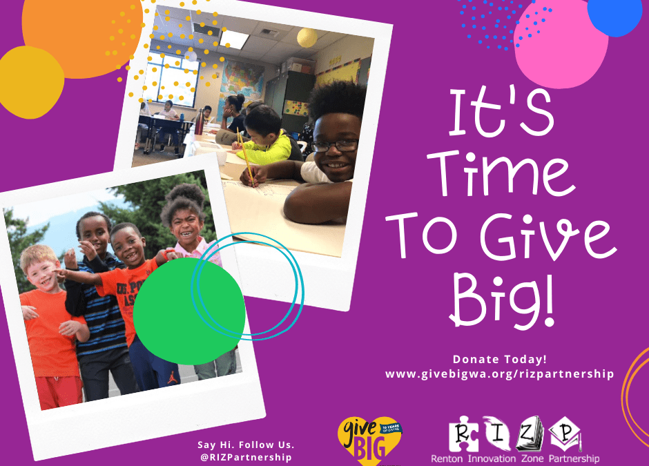 #GiveBig with the RIZP!