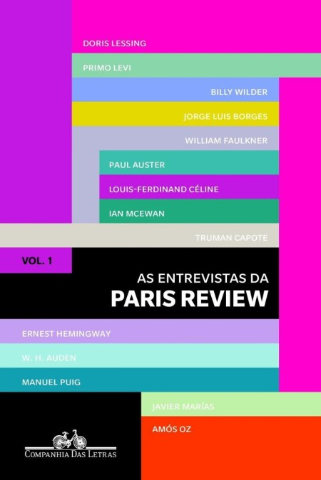 Capa de As entrevistas da Paris Review