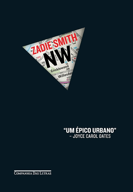 Capa de NW de Zadie Smith